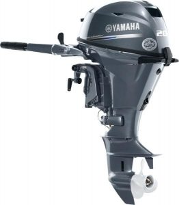 Yamaha 20hp outboard motor for work boat
