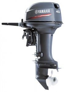 yamaha-40 outboard motor for work boat