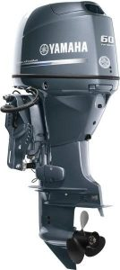yamaha-60 outboard motor for work boat