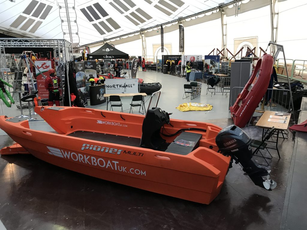 Workboat UK intorduces the boat hire concept at Rescue 3 Europe Technical Rescue Show