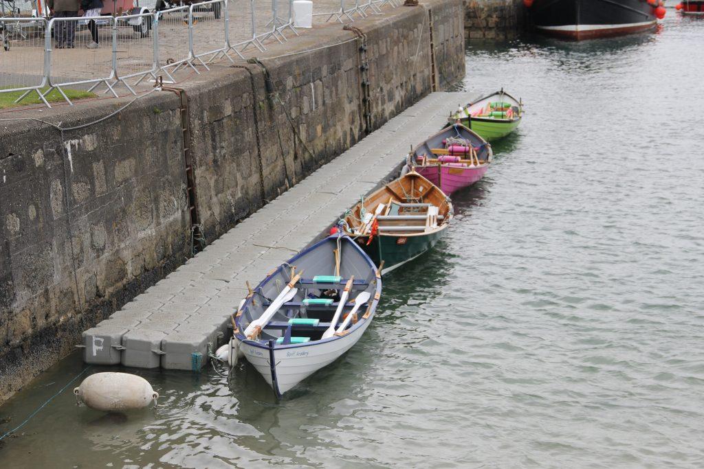 Aqua Dock pontoons available for hire